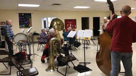 Brass Rehearsal
