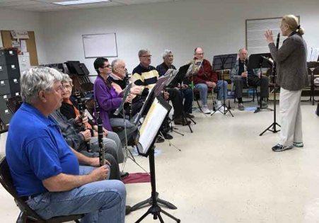 Clarinet Rehearsal