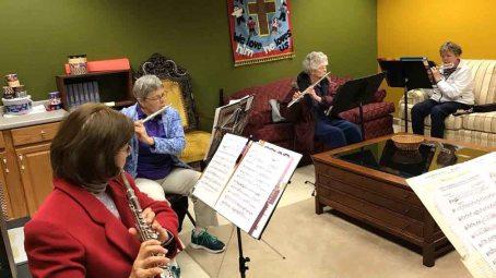 Flute Rehearsal